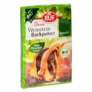 RUF Bio Weinstein Backpulver 3er Pack 3x20g V01