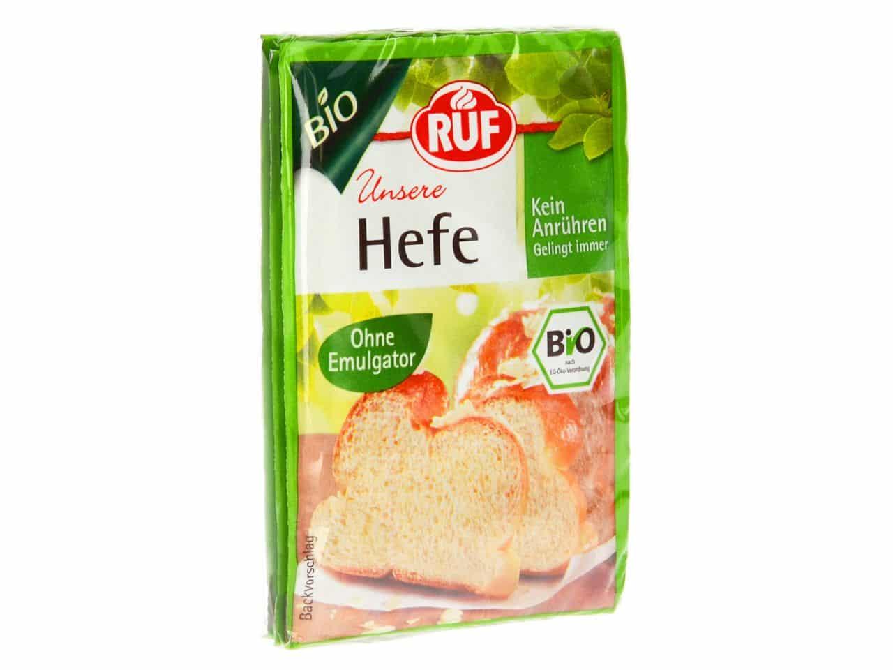 RUF Bio Hefe 3er Pack 3x9 g V01