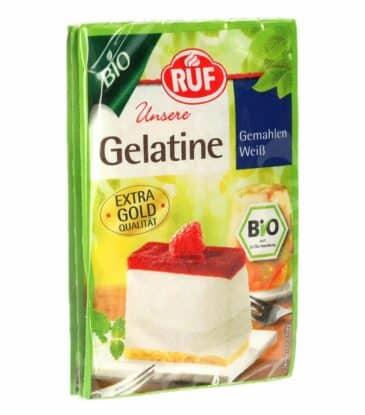RUF Bio Gelatine gemahlen 27 g