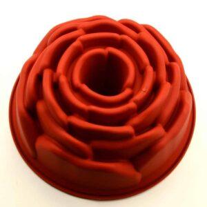 Silikonform groß Rose V01
