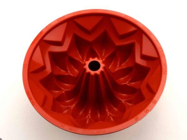 Silikonform groß Sterngugelhupf V03