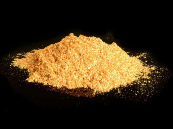 Lebensmittelfarbe Gold sparkle 10 g V02