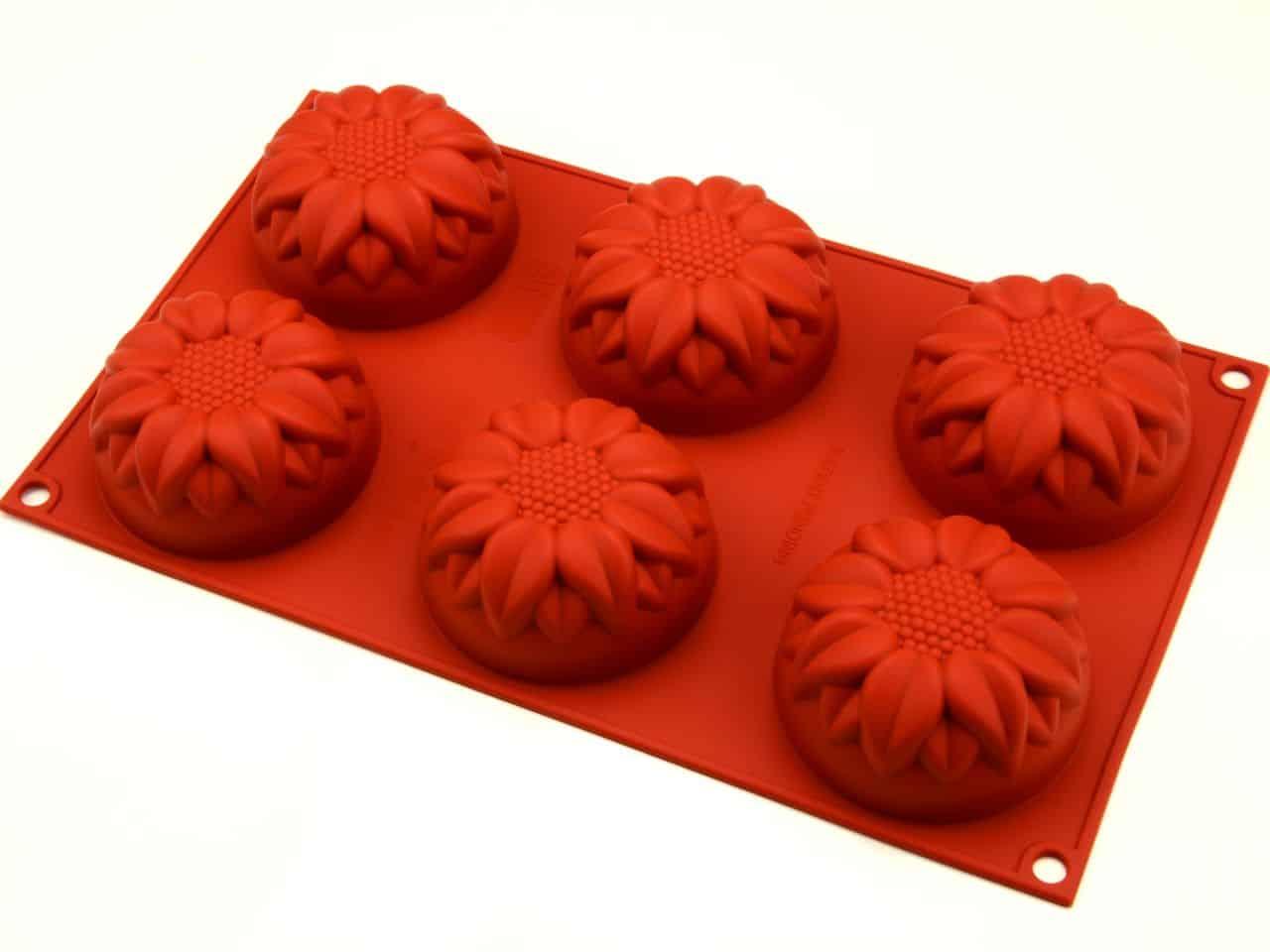 Silikonform Mini Sonnenblume V01