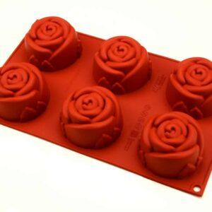 Silikonform Mini Rose V01
