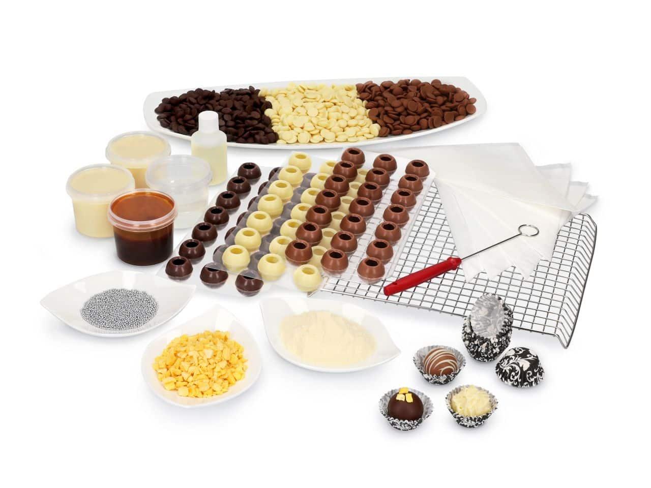 Pralinenset zum Start in die Pralinenproduktion V01