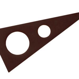 Silikonform für Aufleger Dreieck