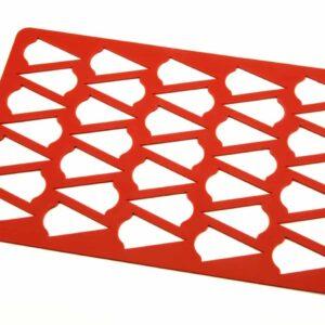 Silikonrahmen für Aufleger Bogen