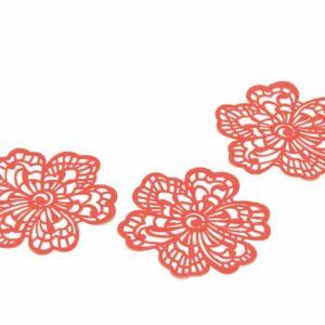 Spitzendekor-Matte Flower V01