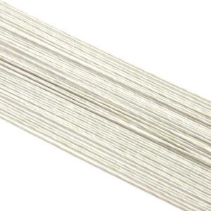 Blumendraht weiß 26G 100 Stück V01