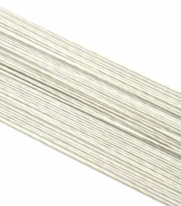 Blumendraht weiß 26G 100 Stück