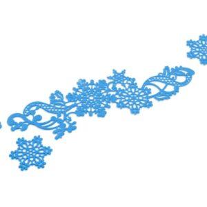 Spitzendekor-Matte Snowflakes V01