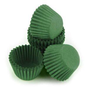 Pralinenkapseln 25 mm grün 100 Stück V01