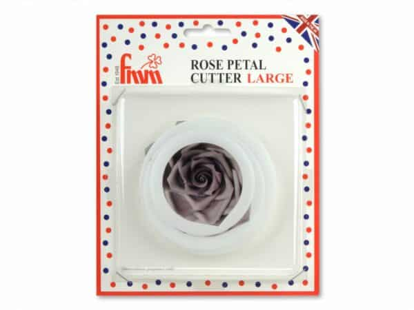 Ausstecher-Set Rose groß 3er V02