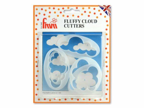 Ausstecherset Wolken 5er V02