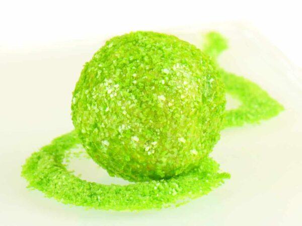 Glitzerpulver essbar apple green - apfelgrün 5 g V01