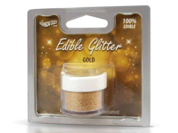 Glitzerpulver essbar Gold 5 g V02
