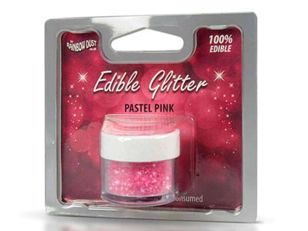 Glitzerpulver essbar pastel-pink 5 g V02