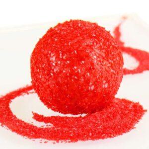 Glitzerpulver essbar red - rot 5 g V01
