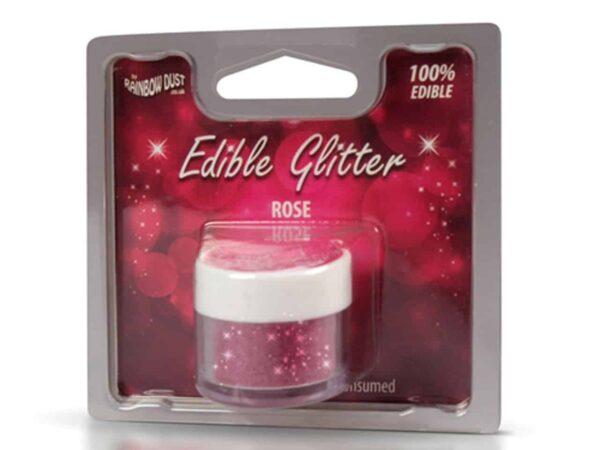 Glitzerpulver essbar rose - pink 5 g V02