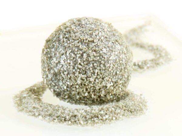 Glitzerpulver essbar silver - Silber 5 g V01