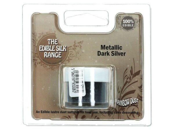Puderfarbe Metallic Dark Silver 3 g V02