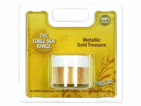 Puderfarbe Metallic Gold Treasure 4 g V02