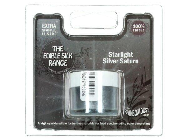 Puderfarbe Starlight Silver Saturn 3 g V02