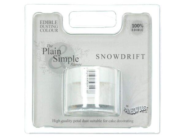Puderfarbe White - Snow Drift 5 g V02