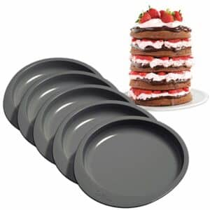 Wilton Cake Pan Easy Layers 15 cm 5er Set V01