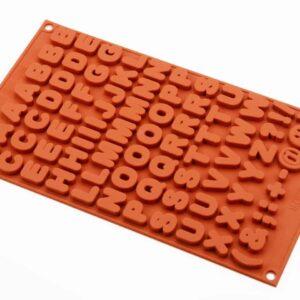Silikonform klein Buchstaben V01