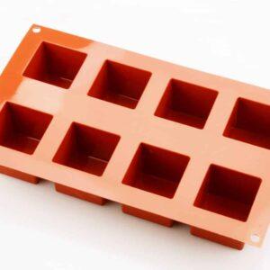 Silikonform klein Würfel V02