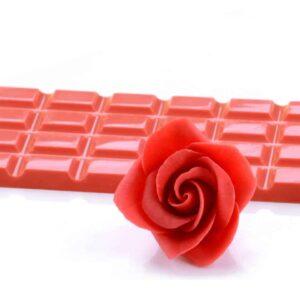 Modellier-Schokolade Rot 600 g V01