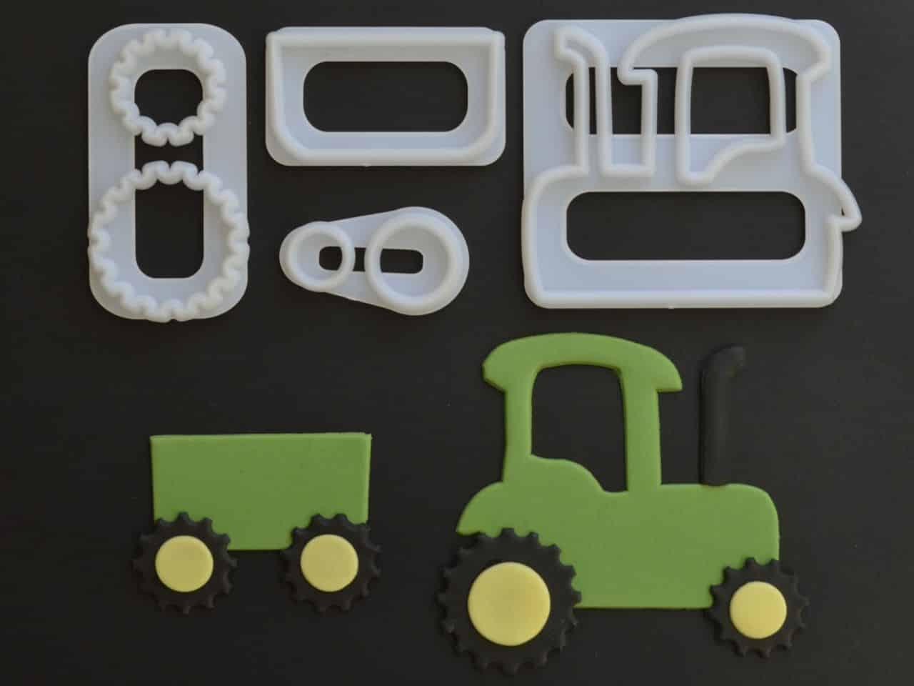 Ausstecher-Set Traktor V01