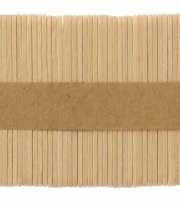 Mini-Eisstiele aus Holz 7 cm 50 Stück