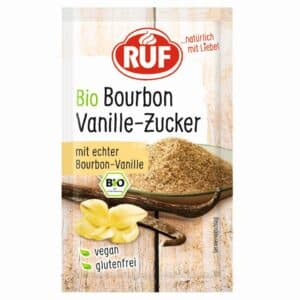 RUF Bio Bourbon Vanille-Zucker 3er Pack 3x8 g