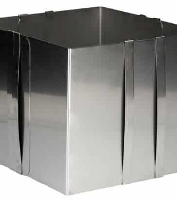 Backrahmen verstellbar 20 cm hoch