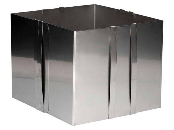 Backrahmen verstellbar 20 cm hoch V01