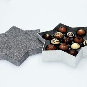 Chocolate Case Starlight für 13 Pralinen V01