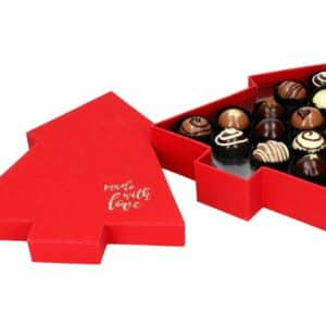 Chocolate Case Ruby Tree für 12 Pralinen V01