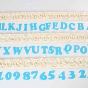 FMM Ausstecher Großbuchstaben Art Deco V01