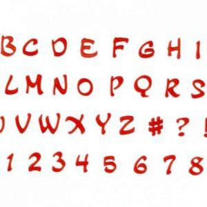 FMM Ausstecher Großbuchstaben Magical Großbuchstaben V01
