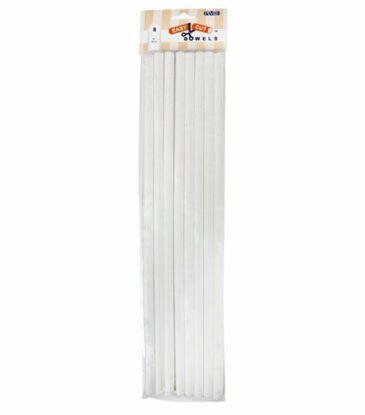 PME Tortenstützen Kunststoff, 40 cm, 8er Set