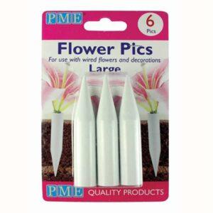 PME Blumenhalter Groß, 6 Stück