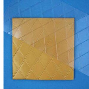 PME Prägematte Diamanten-Rauten V01