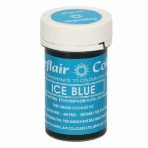 Sugarflair Pastenfarbe Eisblau 25 g