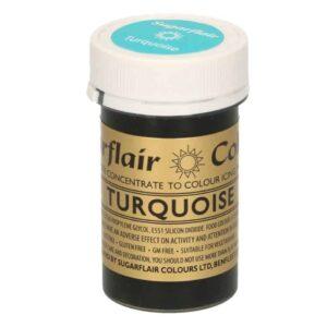 Sugarflair Pastenfarbe Türkis 25 g