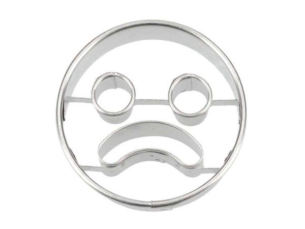 Ausstecher Frowning Face 5 cm