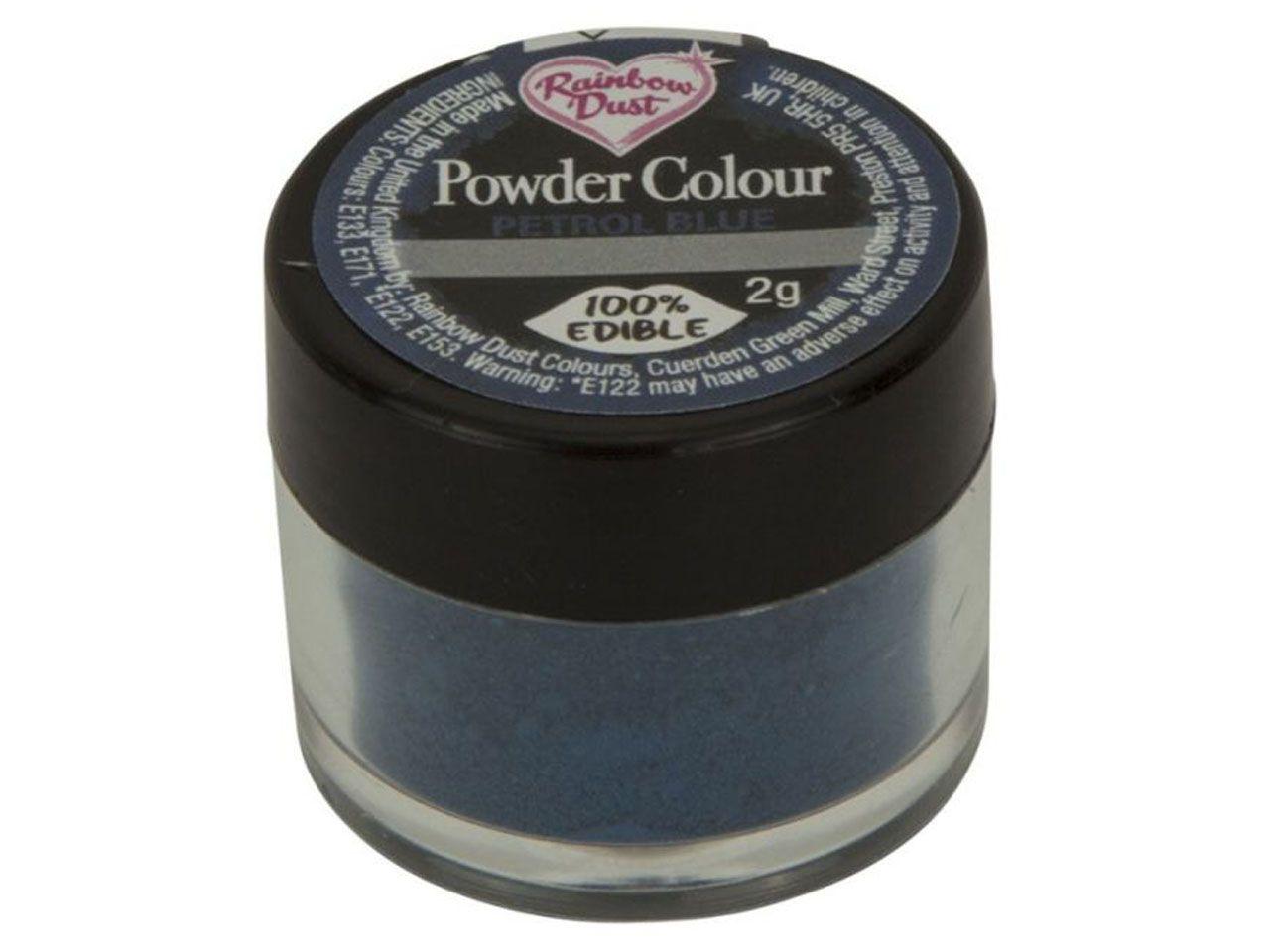 Puderfarbe Petrolblau 2 g V01