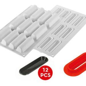 Silikonform Cylindre 30 V01