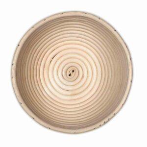 Gärkorb aus Peddigrohr, rund, Ø 17 cm
